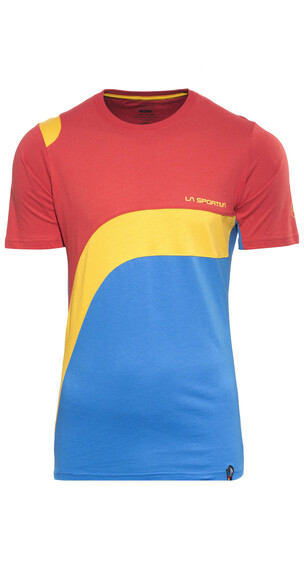 La Sportiva M's Swing T-shirt Red/Blue